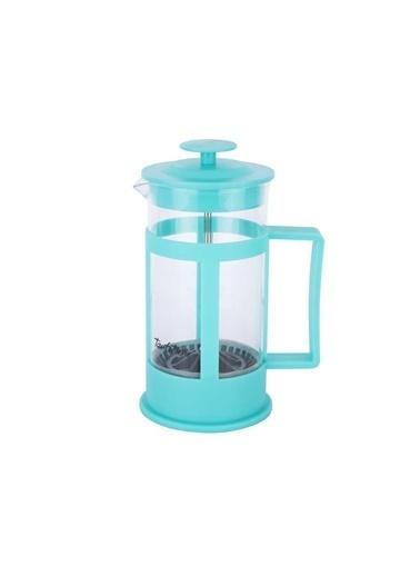 Tantitoni Turkuaz Bitki Çayı Kahve Presi 350Ml Renkli